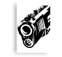 gun barrel Canvas Print