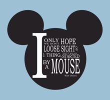 Started by a mouse - walt disney Kids Clothes