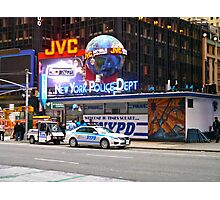 New York Police Department Photographic Print