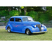 1939 Chevy Two-Door Sedan Photographic Print