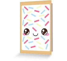 Pop Tart Greeting Card