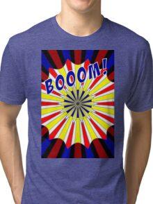 Pop art meets Mondrian explosion Tri-blend T-Shirt
