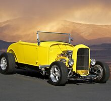 1932 Yellow Roadster by DaveKoontz