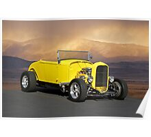 1932 Yellow Roadster Poster