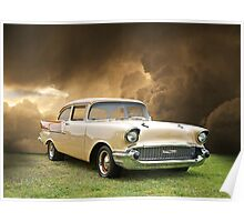 1957 Chevy Biscayne Poster