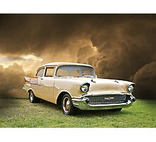 1957 Chevy Biscayne Photographic Print