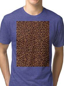 Animal Print Tri-blend T-Shirt