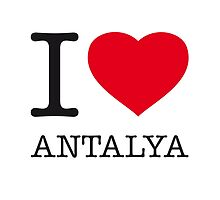 I ♥ ANTALYA by eyesblau