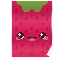 Red Strawberry Poster