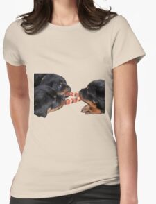 Loving and Sharing Rottweiler Puppies T-Shirt