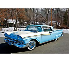 1957 Ford Fairlane Skyliner Photographic Print