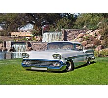 1958 Chevrolet Impala Photographic Print