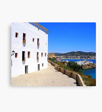 View From The Ramparts Canvas Print
