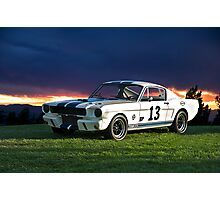 1965 Shelby Mustang GT350R Photographic Print