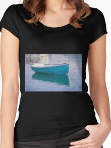 Little Blue Skiff - Impressions Women's Fitted Scoop T-Shirt
