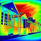 Southwold, Vivid Huts by janett8