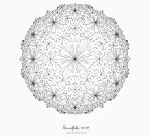 Snowflake 2012 Baby Tee