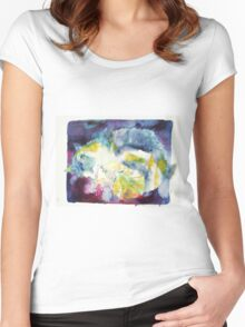 CATS PLAYING Women's Fitted Scoop T-Shirt