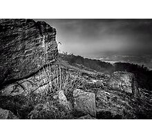 Chevin Surprise View Mono Photographic Print