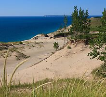 Sleeping Bear Dunes and South Manitou Island by DArthurBrown