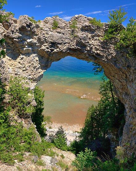 Arch Rock, Mackinac Island by Daniel Brown