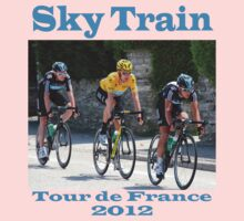 Wiggins Sky Train - Tour de France 2012 One Piece - Long Sleeve