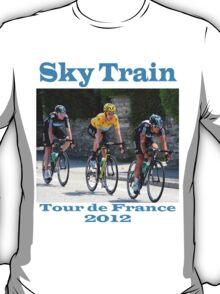 Wiggins Sky Train - Tour de France 2012 T-Shirt