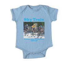 Wiggins Sky Train - Tour de France 2012 One Piece - Short Sleeve