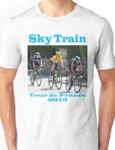 Wiggins Sky Train - Tour de France 2012 Unisex T-Shirt