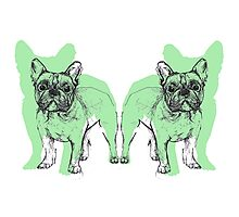 Theo the Frenchie Photographic Print