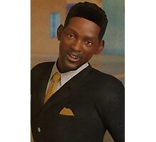 Portrait of Will Smith Photographic Print