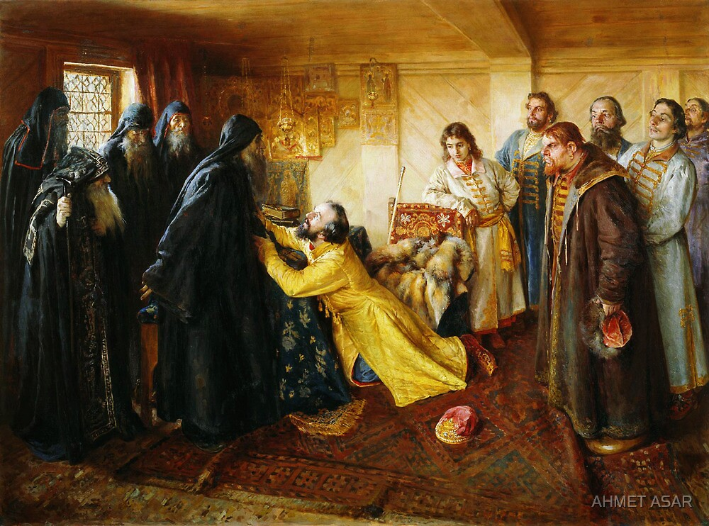 ivan the terrible begs to become a monk by MotionAge Media