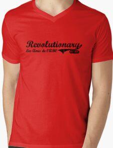 Revolutionary - Black Mens V-Neck T-Shirt