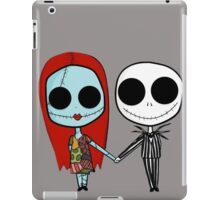 Jack and Sandy - The Nightmare Before Christmas iPad Case/Skin