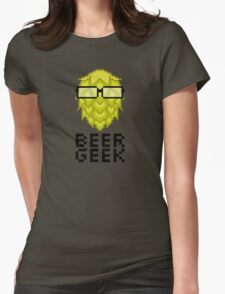 Beer Geek Womens Fitted T-Shirt