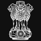Emblem of India by Hokurai