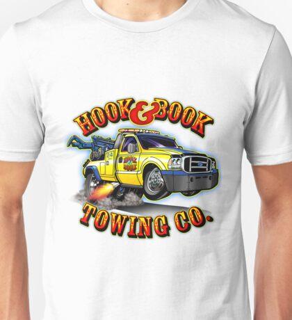 Hook & Book Towing Co. Unisex T-Shirt