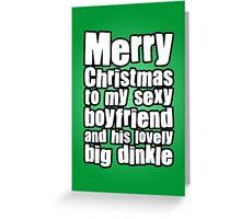 Merry Christmas Boyfriend Greeting Card