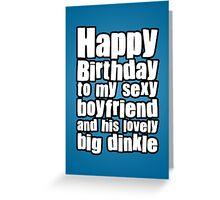 Happy Birthday Boyfriend Greeting Card