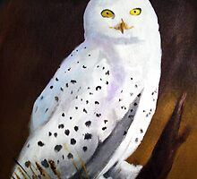 Harfang des Neiges (Snow Owl) by Anne Thigpen