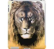 Lion, vector art iPad Case/Skin
