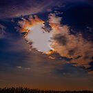 Colourful clouds by Tracey Phillips