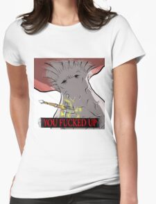 Serious Trouble Womens Fitted T-Shirt