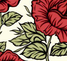 Floral rose Sticker
