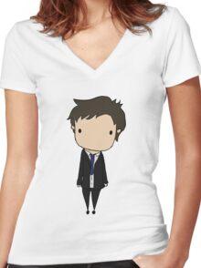 Little Jimmy Novak Women's Fitted V-Neck T-Shirt