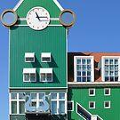 Railway station Zaandam - the Netherlands by Arie Koene