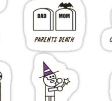 How to be a Superhero Sticker