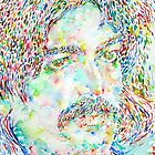 CAPTAIN BEEFHEART WATERCOLOR PORTRAIT.1 by lautir