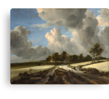 Jacob van Ruisdael   Wheat Fields (c. 1670) Canvas Print