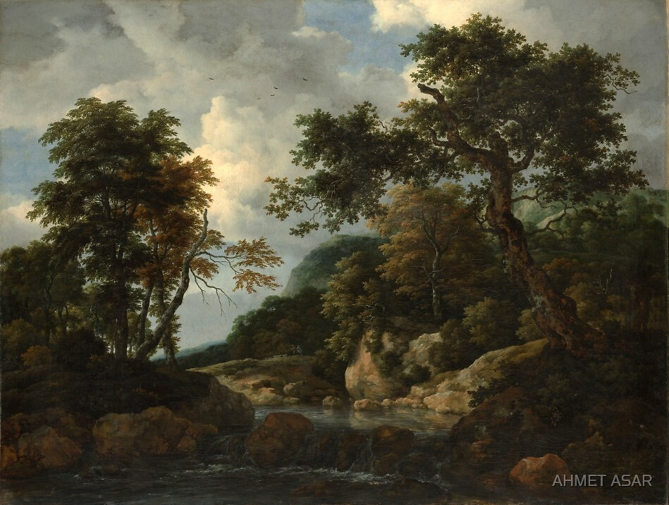 Jacob van Ruisdael  The Forest Stream (c. 1660) by MotionAge Media
